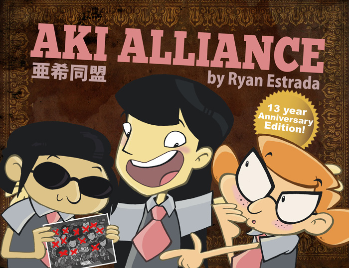 Aki Alliance: A 200 page graphic novel